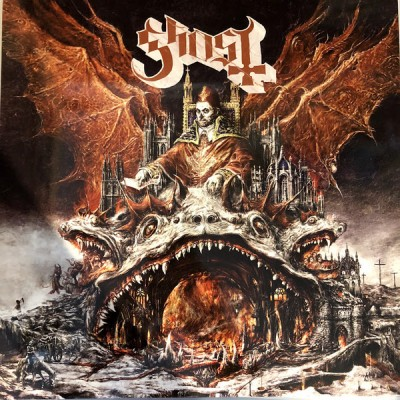 Ghost - Prequelle LP+7 Ltd Ed Gold Vinyl