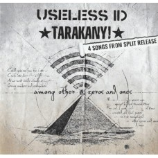 Тараканы ! / Useless ID - Among Other Zeros And Ones 10 Europe White Black Marbled Vinyl Ltd Ed 300 copies