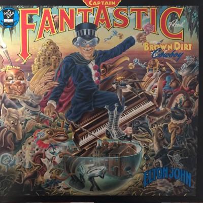 Elton John - Captain Fantastic And The Brown Dirt Cowboy LP Gatefold + Boklet