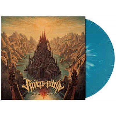 Rivers Of Nihil – Monarchy LP Ltd Ed Aqua Blue Bone Splattered Vinyl