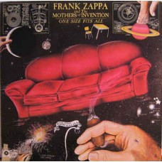 Frank Zappa And The Mothers Of Invention – One Size Fits All LP US Gatefold 1975