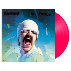 Scorpions - Blackout LP Neon Pink Vinyl NEW 2018 Reissue