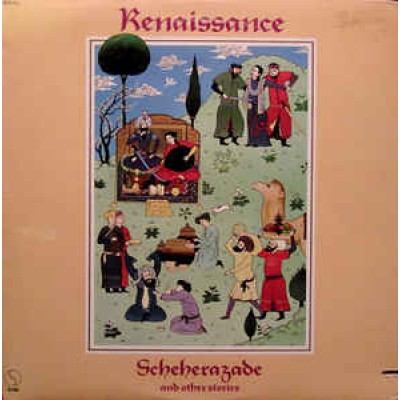 Renaissance ‎– Scheherazade And Other Stories LP US 1975 + Inlay