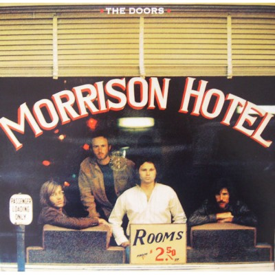 The Doors - Morrison Hotel LP Deluxe Edition Gatefold