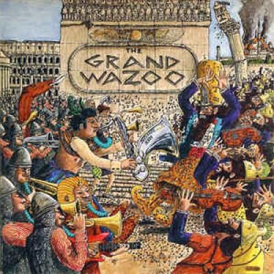 The Mothers ( Frank Zappa ) – The Grand Wazoo LP US Gatefold 1972