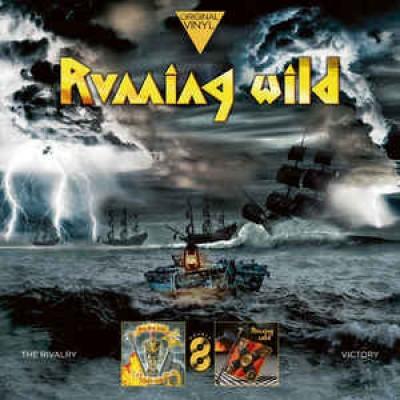 Running Wild – The Rivalry / Victory 2LP Gatefold 2019 Reissue