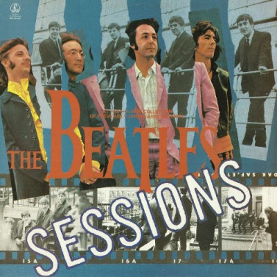 The Beatles ‎– Sessions LP 1985 Factory Sample Black Label