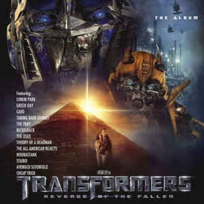 Various Artists ‎– Transformers: Revenge Of The Fallen Soundtrack 2LP Coke Bottle Green Clear Vinyl Record Store Day 2019