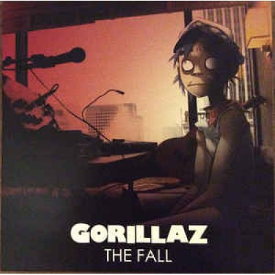 Gorillaz ‎– The Fall LP Forest Green Translucent Limited Edition Record Store Day 2019