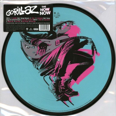 Gorillaz - The Now Now LP Picture Disc Ltd Ed New 2019 Reissue
