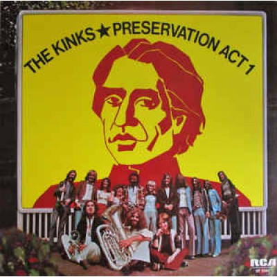 The Kinks ‎– Preservation Act 1 LP UK 1973