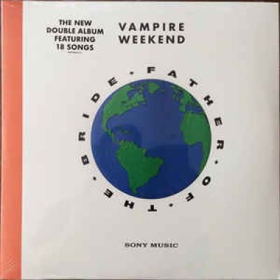 Vampire Weekend ‎– Father Of The Bride 2LP NEW 2019 Gatefold