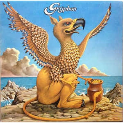 Gryphon ‎– Gryphon LP UK 1973