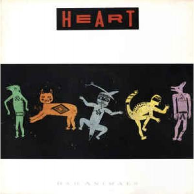Heart - Bad Animals LP UK 1987