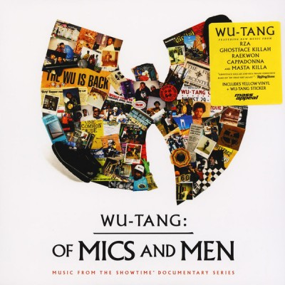 Wu-Tang Clan ‎– Wu-Tang: Of Mics And Men LP Ltd Ed Yellow Vinyl NEW 2019