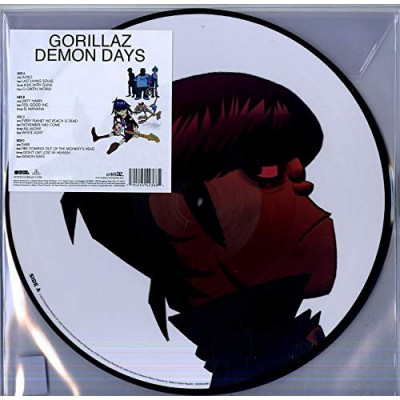 Gorillaz ‎– Demon Days 2LP Picture Disc NEW 2019 Ltd Ed