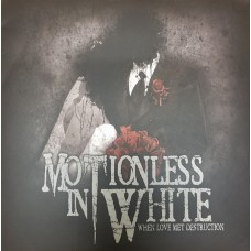Motionless In White - When Love Met Destruction LP Ltd Ed NEW 2019 Reisue
