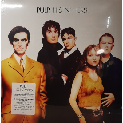 Pulp - His 'N' Hers LP NEW 2019 Reissue