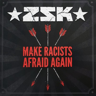 ZSK / Tarakany! ( Тараканы! ) ‎– Make Racists Afraid Again / Lie For Lie 7 '' Red Vinyl Ltd Ed 400 шт.