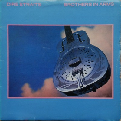 Dire Straits - Brothers In Arms LP 1985 Yugoslavia + inlay