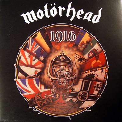 Motörhead - 1916 LP Gatefold 2009 Audiophile Analogue Re-Mastering