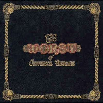 Jefferson Airplane - The Worst Of Jefferson Airplane LP UK