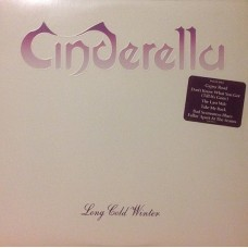 Cinderella - Long Cold Winter LP Embossed Cover US
