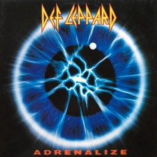 Def Leppard - Adrenalize LP 1992 Hungary + inlay