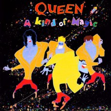 Queen - A Kind Of Magic LP Gatefold 1986 Yugoslavia + inlay