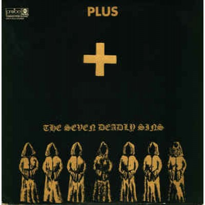 Plus ‎– The Seven Deadly Sins LP US Gatefold Die-Cut Cover 1969