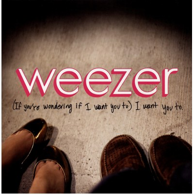 Weezer - (If Youre Wondering If I Want You To) I Want You To 7'' US Promo Orange Vinyl