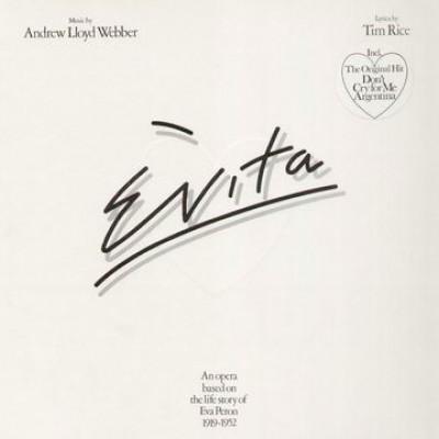 Andrew Lloyd Webber And Tim Rice - Evita 2LP Gatefold