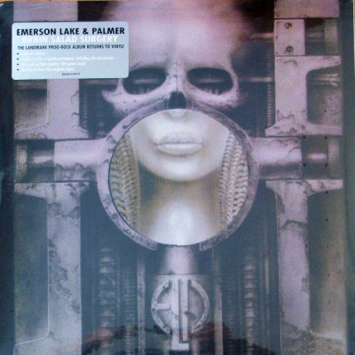 Emerson, Lake & Palmer – Brain Salad Surgery LP US + Poster 2008 Reissue