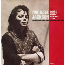 Michael Jackson - I Just Can't Stop Loving You 7''