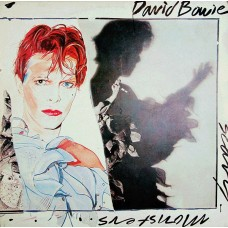 David Bowie - Scary Monsters LP 1981 Yugoslavia + inlay (!!!)
