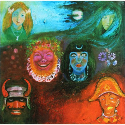 King Crimson - In The Wake Of Poseidon LP 1988 UK  Gatefold