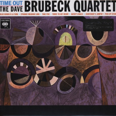 The Dave Brubeck Quartet - Time Out LP 2010 Reissue
