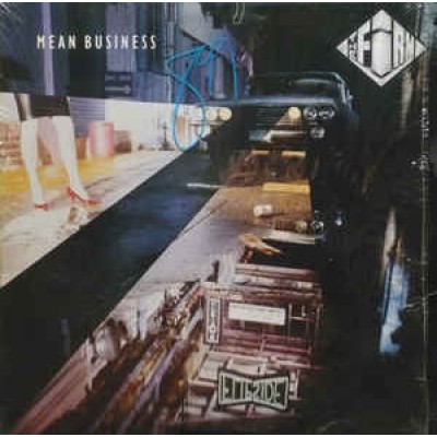 The Firm ‎– Mean Business LP Canada + Inlay