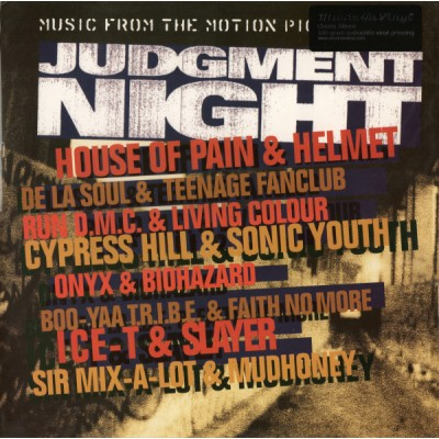 Various - Judgment Night (Music From The Motion Picture) LP 2010 Reissue