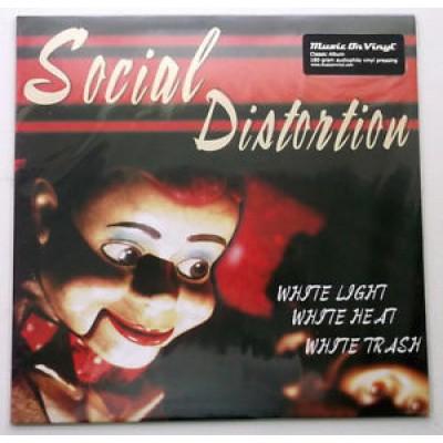 Social Distortion - White Light White Heat White Trash LP Audiophile Vinyl 2011 Reissue