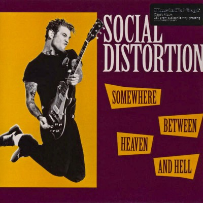 Social Distortion - Somewhere Between Heaven And Hell P Audiophile Vinyl 2011 Reissue