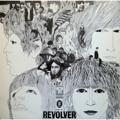 The Beatles - Revolver LP Germany 1969