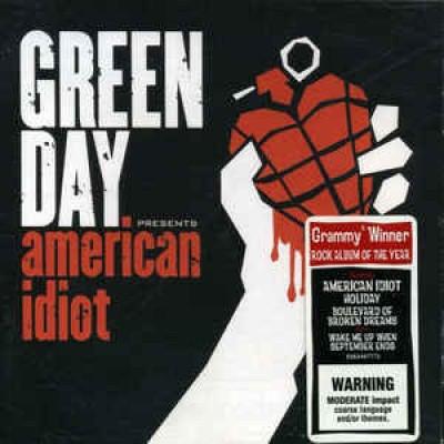 CD Green Day – American Idiot (Australia)