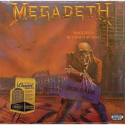 Megadeth - Peace Sells But Whos Buying LP 2008 Reissue