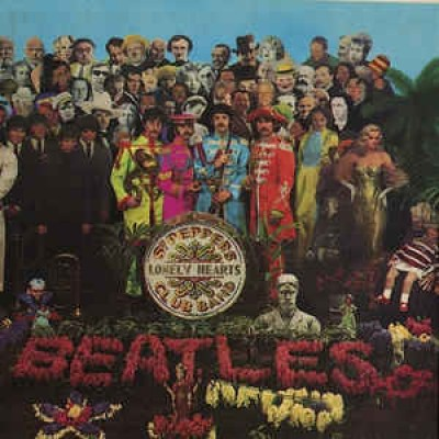 The Beatles ‎– Sgt Peppers Lonely Hearts Club Band LP Gatefold 1967 US Mono Inlay Scranton Pressing