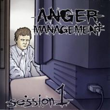 Various – Anger Management Session 1 7'' Green Vinyl