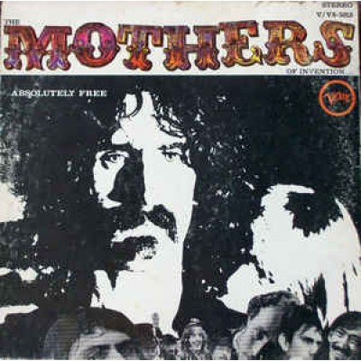 The Mothers Of Invention ( Frank Zappa ) ‎– Absolutely Free LP US 1967 Gatefold Waddel Pressing