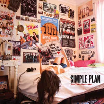 CD Simple Plan ‎– Get Your Heart On! (Germany)