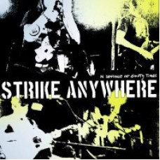Strike Anywhere - In Defiance Of Empty Times LP Blue Opaque Vinyl