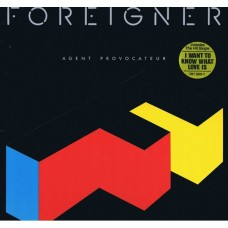 Foreigner - Agent Provocateur LP Embossed Cover